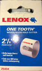 "Lenox 25434-34HC One Tooth Rough Wood Hole Cutter 2-1/8"" (54mm) New"