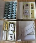 (4) Kenmore Sewing Machine Attachments Cam, Templates, Monograms, Button Holer