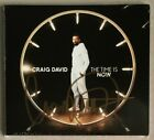 CRAIG DAVID * THE TIME IS NOW * SIGNED DELUXE 15 TRK CD * BN&M! * HEARTLINE