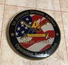 UNITED STATES ARMY 1ST ARMORED DIVISION ARTILLERY OIF CHALLENGE COIN