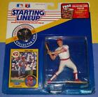 1991 CHRIS SABO Cincinnati Reds #17 - FREE s/h- Kenner Starting Lineup with Coin