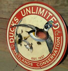 DUCK HUNTING Metal AD SIGN Wall Bar Garage Cave Decor Picture Gift New Made USA