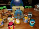 Fisher Price Little People Christmas Nativity Full Set With 13 Figures