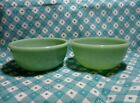 Fire King / AH 2000 Jadeite Restaurant Chile Bowls x 2 in Excellent Condition