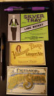 1900 Ezcelsiors Lemon Soda label Virginia Dare 1930  Lime Rickey 1930 labels