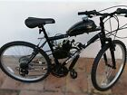 80CC Gas 2 Stroke Motorized Mountain Bike Assembled and Tested