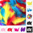 200 x Fluffy Marabou Feathers Card Crafts 10 15cm Plume Making Embellishments
