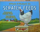 Chicken Vtg Picture Metal Sign Wall Art Rooster Hen Country Farm Kitchen Decor