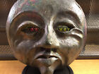 MID CENTURY WALL ART MASK HAND CRAFTED FIRED CERAMIC