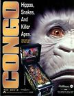 Congo Williams Pinball Flyer / Brochure/ Ad - Mint