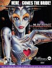 Bride of Pinbot Williams Pinball Flyer / Brochure/ Ad - Mint