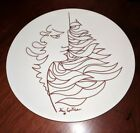 Jean Cocteau French Limoges Porcelain Plate Expressionism MCM