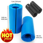 Thick Bar Grips Barbell Dumbbell Kettlebell Fat Bar Training Black Blue New