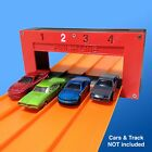 4 Lane Electronic Finish Line Gate Compatible w Hot Wheels Race Track