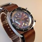 NOS RUHLA CHRONOGRAF DDR,Anker RARE Export Version Diver Watch, NEW Condition