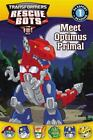 Transformers: Rescue Bots: Meet Optimus Primal (Passport to Reading Level 1) by