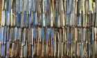 Mixed Lot 173 Pieces Stainless Steel Butter Knives Flatware 25 Pounds