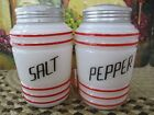 Pepper RANGE SHAKERS Red Stripe w Black Letters