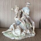 LLADRO... LOVERS RESTING IN THE WOODS ... BEAUTIFUL... LARGE.....