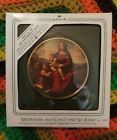 Hallmark Keepsake Ornament Madonna & Child & St John Art Masterpiece Series 1984