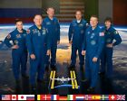EXPEDITION 42 CREW MEMBERS FOR THE INTL SPACE STATION 8X10 NASA PHOTO AZ407