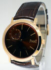 Piaget Altiplano 18k Rose Gold Mens Limited Mechanical Wind 40mm Watch GAO34113