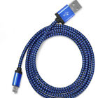 3M 10ft Long Micro USB Data Braided Charging Cable For Android Samsung Galaxy LG