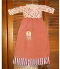 STRIPES DRESS Grungy Decor Patriotic 4th of July