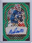 2017 Panini Select Andre Reed Green Prizm Signatures AUTO 3 5 #SP-AR