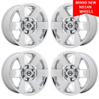 18 NISSAN ARMADA TITAN CHROME WHEELS RIMS ORGINAL FACTORY OEM NEW SET 62439