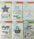 Fun Stampers Journey Small Stamp Sets Cling Mount Unmounted U PICK
