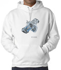 New Engine Turbo BMW R1200GS Classic Hoodie Men's & Womens Long Sleeve