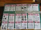 EASTER AND SPRING LOT OF 18 PACKS STUDIO G CLEAR STAMPS SERIES 29 NEW