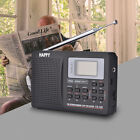 Handheld Full Band AM FM Stereo MW SW DSP Radio Receiver TV sound Alarm Receiver