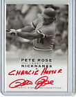 Deep Thoughts (and Spelling Mistakes) with Pete Rose Autographs 12