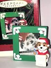 HALLMARK Keepsake 1995 SPECIAL DOG Photo Holder CHRISTMAS ORNAMENT Vintage NEW
