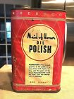 VINTAGE SEARS ROEBUCK & CO SEROCO MAID OF HONOR OIL POISH CAN 1 QT PAPER LABEL