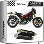 ARROW 2 EXHAUST ROUND-SIL CARBON RACE DUCATI MONSTER S4RS TESTASTRETTA 06-07