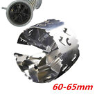 Stainless Car Turbo Charger Booster Air Intake Economizer Fuel Gas Saver 60 65mm