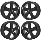 17 JEEP COMPASS BLACK WHEELS RIMS FACTORY OEM SET 4 2018 2019 9188