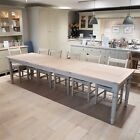Suffolk 180cm Extending Dining Table Neptune Furniture Ex Display Clearance