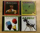 Gamma 1, 2, 3, 4 - Ronnie Montrose - Four Mint Wounded Bird CDs