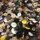 GREAT 300 pcs MIXED LOT of VINTAGE NEW Buttons ALL TYPE SIZE COLOR GREAT MIX