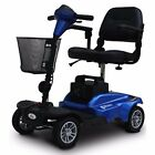 MiniRider 4 Wheels Compact Travel Mobility Scooter By EV Rider Blue