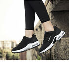 Fashion Mens Shoes Causal Running Sports Shoes FlyknitSneakers Black Size NO44