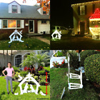 EasyGo Large Outdoor Nativity Scene Large Christmas Yard Decoration Set and Re
