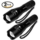 Tactical Flashlight 2 Pack - Tac Light Torch Flashlight - As Seen on TV XML T6 -