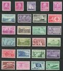 US Postage Stamps 3 Cent Vintage Collection Of 25 Stamps 60 70 Years Old V 3
