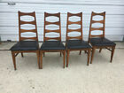 Liberty, NC Mid Century Modern Ladder Back Chairs (4) GH2017