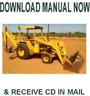 John Deere Backhoe Loader 310A / 310B  Service Repair Workshop Manual on CD